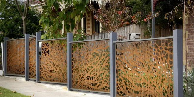 Backyard Metal Wall Art