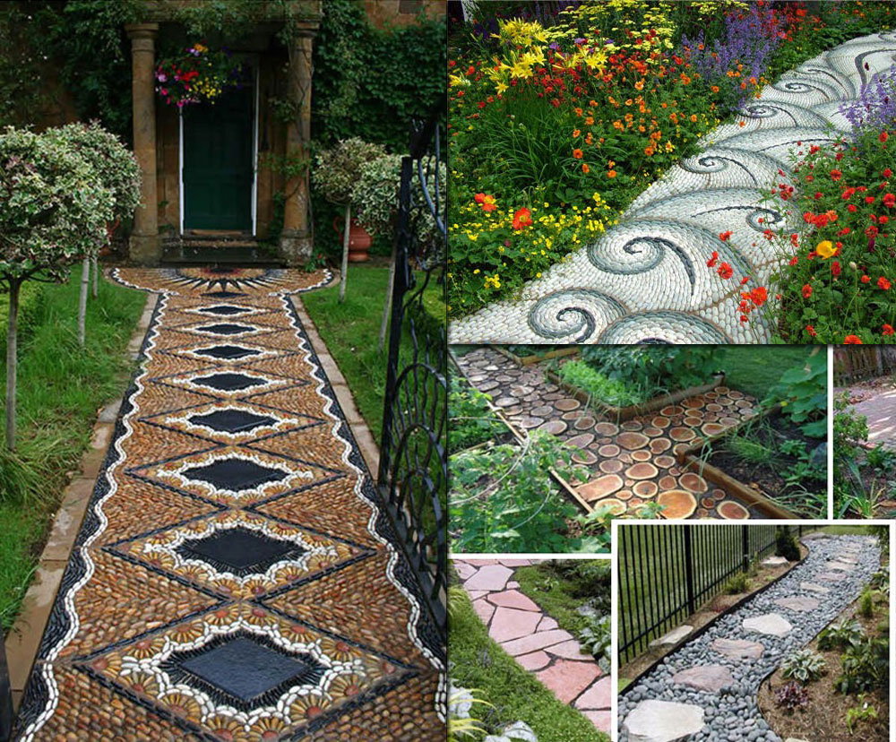 12 Lovely Garden Path and Walkways Ideas - Home And ... on Backyard Walkway Ideas id=96600