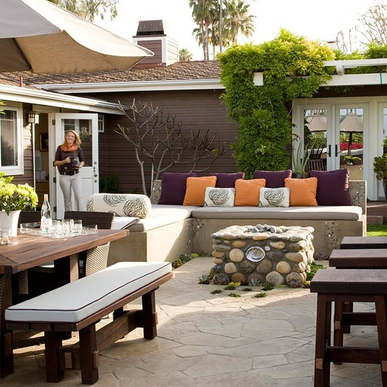 15 Fabulous Small Patio Ideas To Make Most Of Small Space ... on Porch Backyard Ideas id=41363
