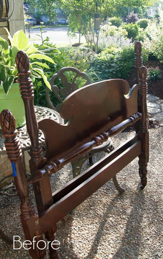 headboard garden bench 39 DIY Garden Bench Plans You Will Love to Build – Home