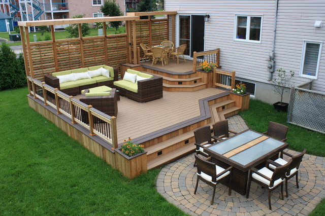 22 Deck Design Ideas To Create a Fabulous Outdoor Living ... on Simple Back Deck Ideas id=57504