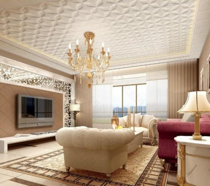 Patterned Ceiling Design