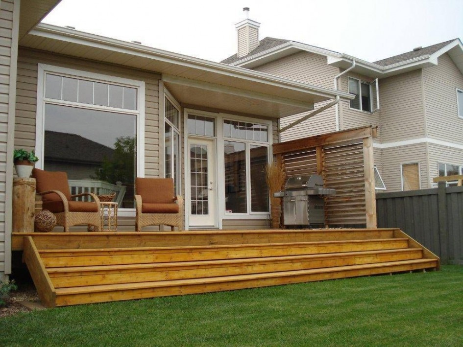 22 Deck Design Ideas To Create a Fabulous Outdoor Living ... on Add On Patio Ideas  id=99338