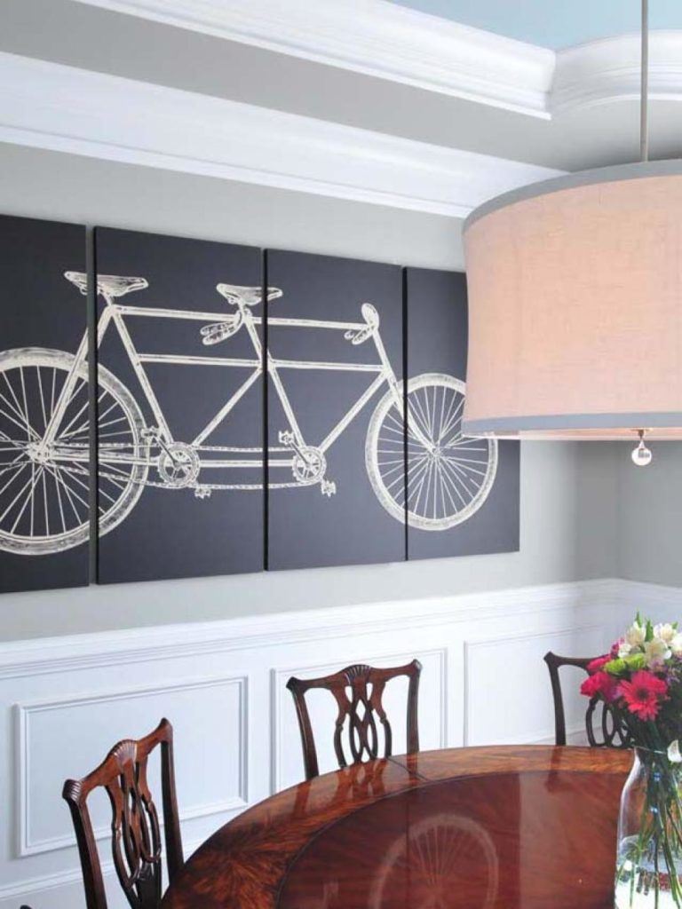20 Fabulous Dining Room Wall Decorating Ideas - Home And ... on Room Wall Decor id=62054