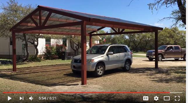 10 Free Carport Plans Build A DIY Carport On A Budget