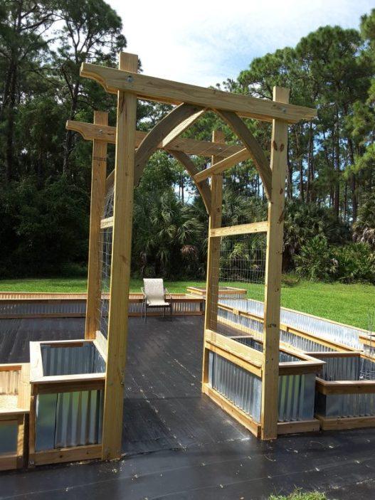 DIY Arbor Kafes