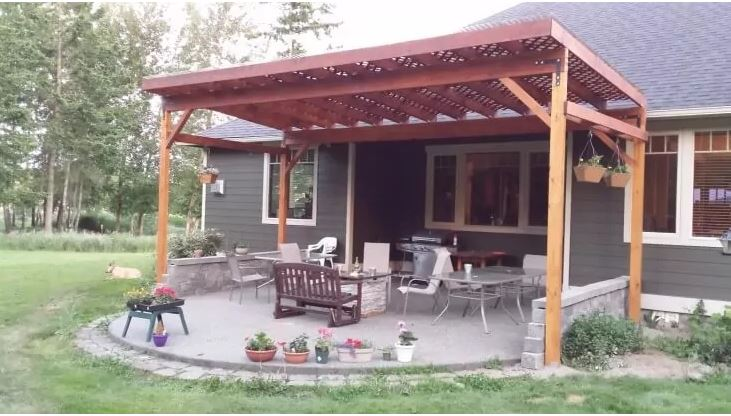 21 diy patio cover plans learn how to build a patio cover home and gardening ideas