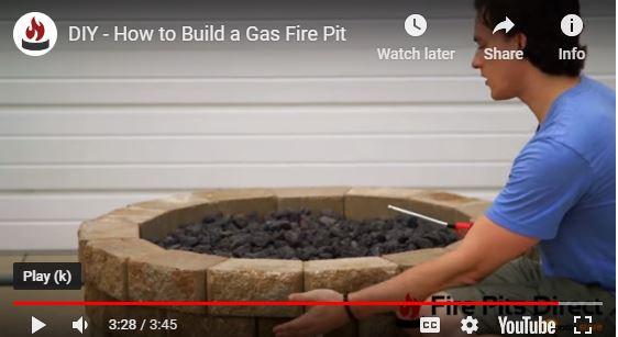 Match Light DIY Gazlı Ateş Çukuru