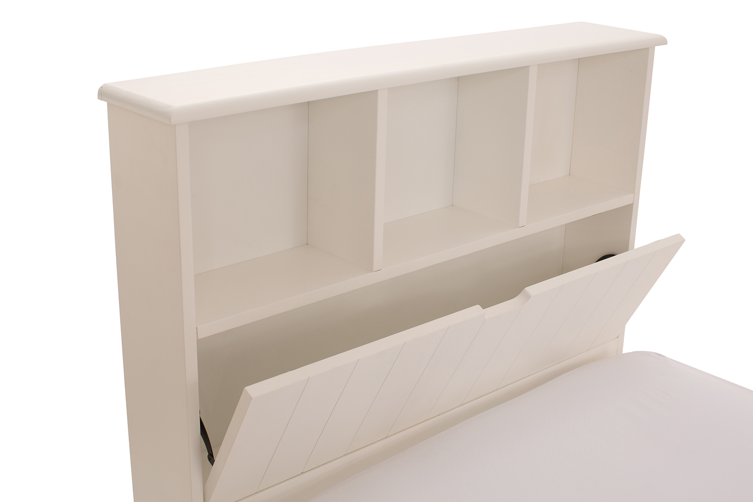 Shaker Bed With Storage Headboard 3ft