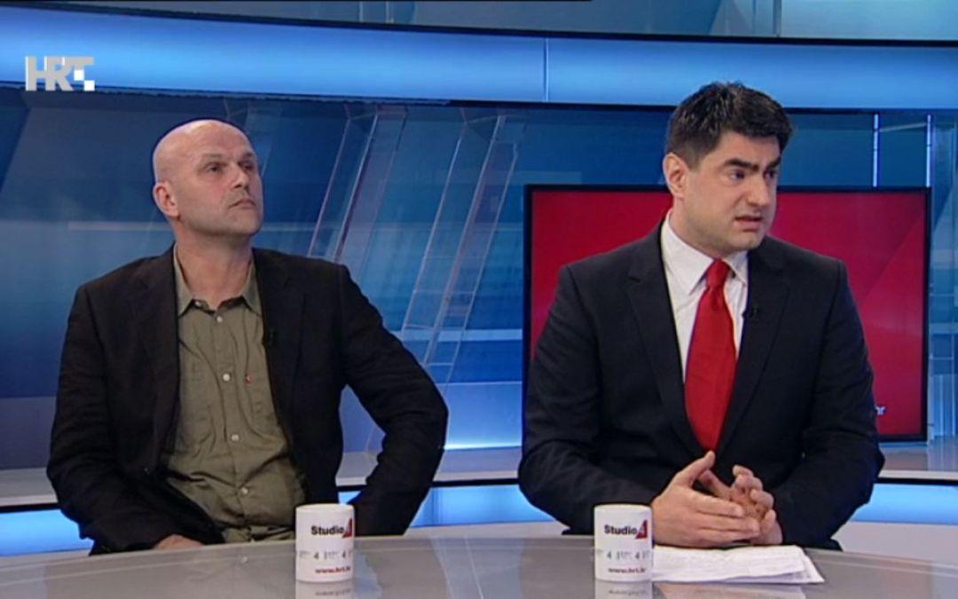 Žustra rasprava Siniše Kovačića (HNiP) i Saše Lekovića (HND) u Studiju 4