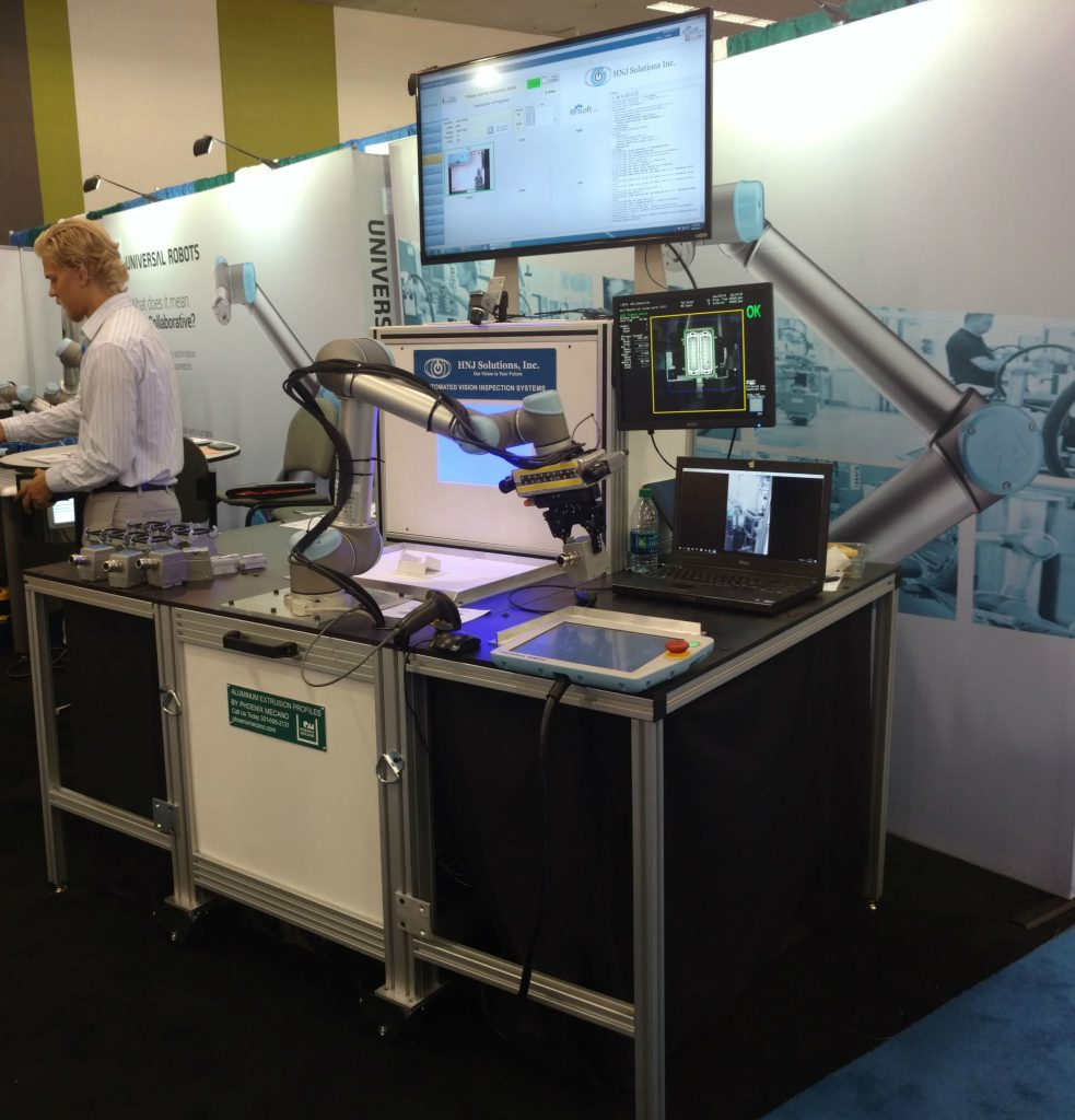 HNJ Solutions, Inc. As Seen At RoboBusiness 2016.