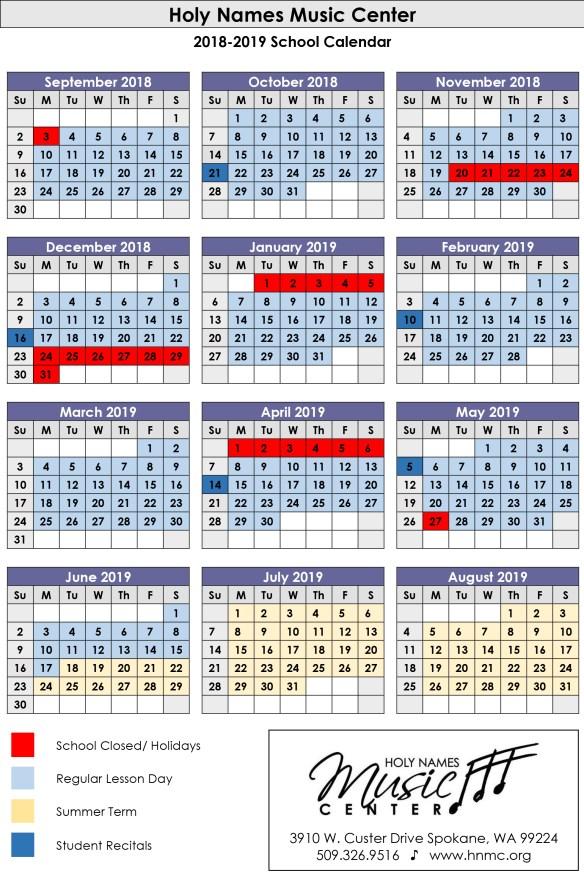 2017-18 Yearly School Calendar - CalendarLabs.com