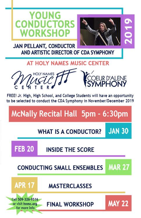 Young Conductors Workshop web post