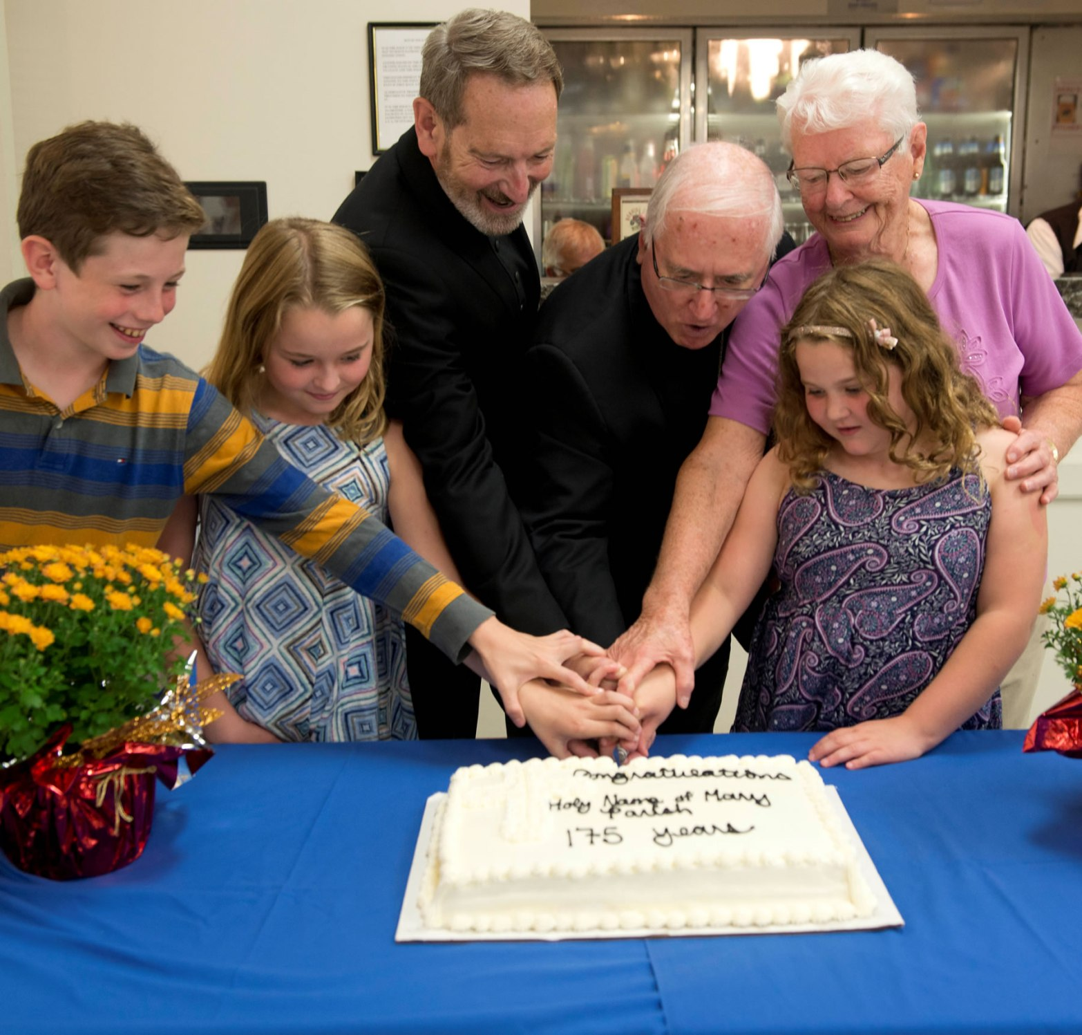 Celebration at Holy Name of Mary