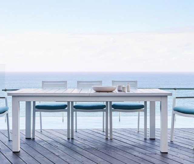 Spritz Rectangular Outdoor Extension Dining Table