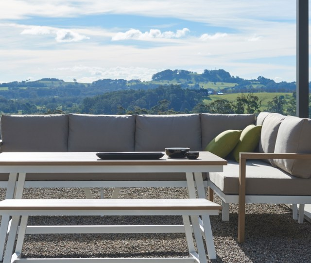Piazza Outdoor Rectangular Dining Table