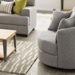 Greyson Small Swivel Chair Harvey Norman New Zealand
