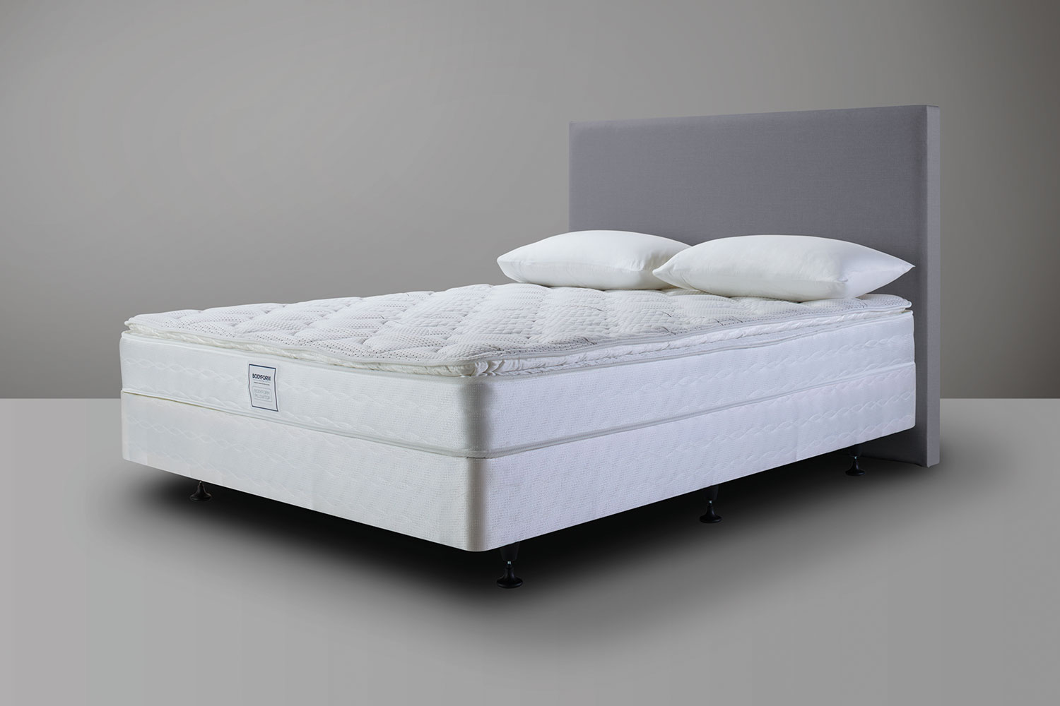 bodyform pillowtop queen bed by sealy