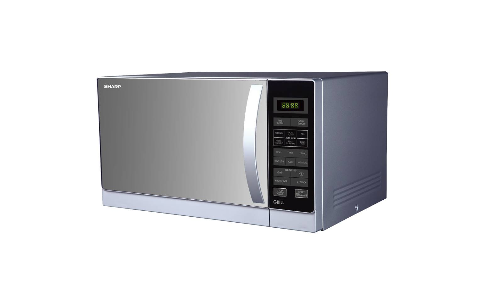 sharp r 72a1 sm 25l compact grill microwave