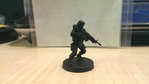 A build of Badger using the M249 SAW.