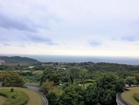 ヴィラージュ伊豆高原部屋からの景色