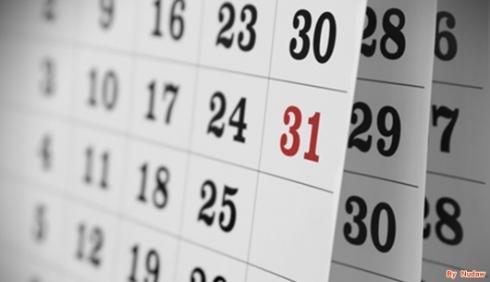 ปฏิทินปี2556 ฤกษ์ดีปี2556 วันดีปี2556 วันหยุดราชการ2556