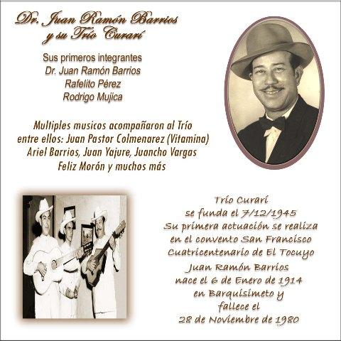 Juan Ramon Barrios - Trio Curari (2/2)
