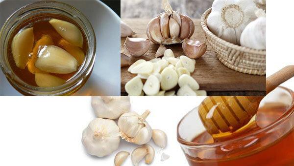 dùng tỏi và mật ong chữa viêm họng