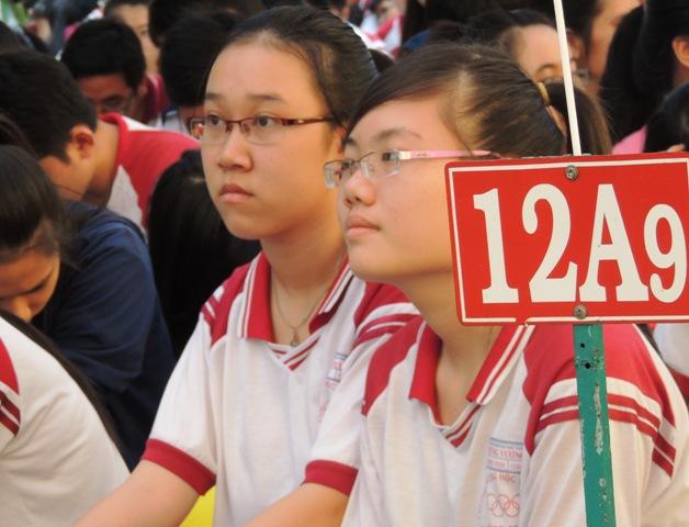 Học sinh lớp 12 trên cả nước đang chuẩn bị cho kỳ THPT Quốc gia 2016