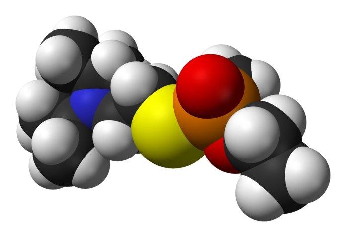 Công thức hoá học của VX