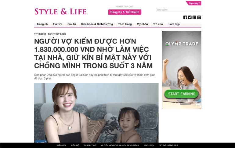 Website bị hack, chuyển hướng tới website affiliate