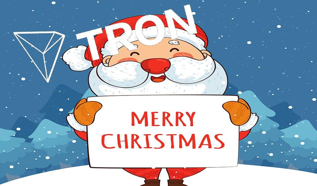 Binance & TRON rinh quà Merry Chirsstmas
