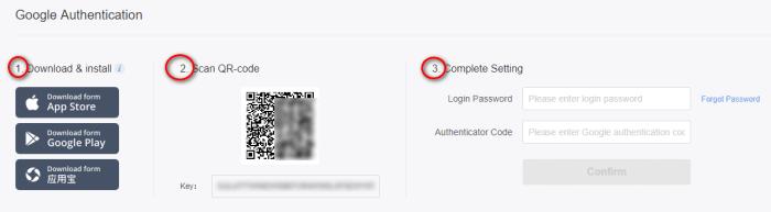 đăng ký 2fa và đánh giá sàn giao dịch coin Bibox