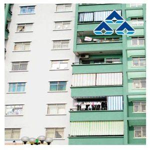 Bạt che nắng mưa chung cư