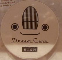 Dream cars gift shop, coasters.