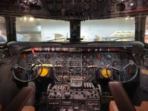 DC 7 cockpit - Smithsonian Air and Space