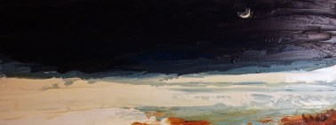 the_sea_at_night-35x100