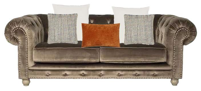 chesterfield couch style 1 kissen deko