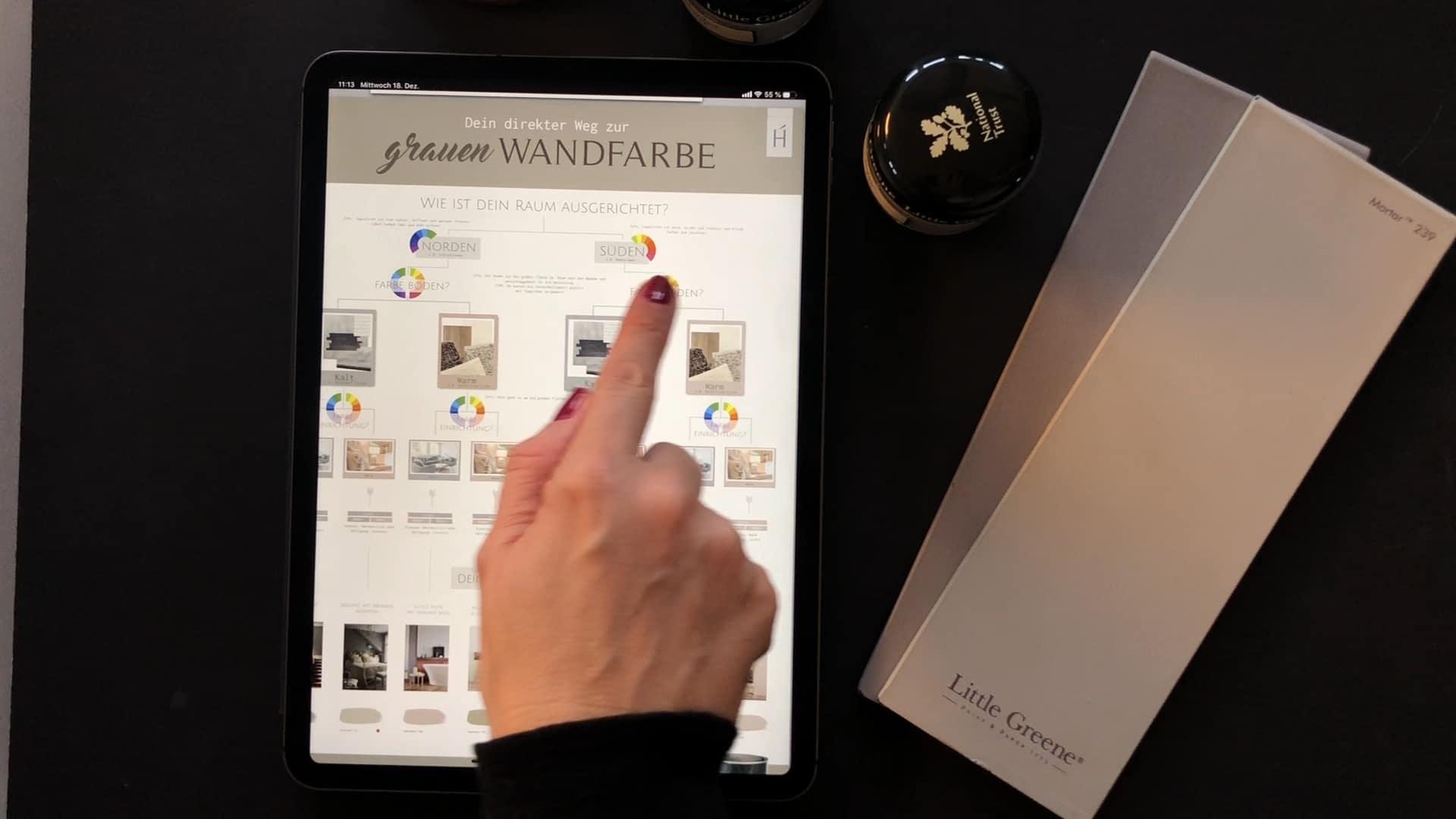 Farben Guideline Warmes Grau Dein Weg zur perfekten Wandfarbe Grau