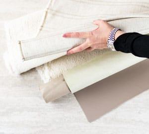 Elegantes design Stoffe Materialien Kunstleder Neutral Beige