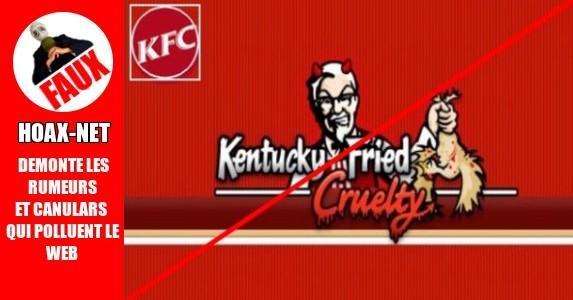 Les poulets mutants de KFC