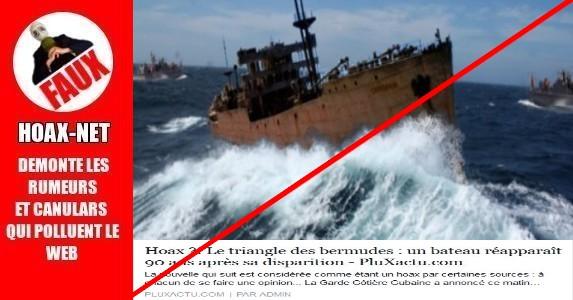 Le triangle des bermudes : un bateau n'est pas réapparut  90 ans après sa disparition !