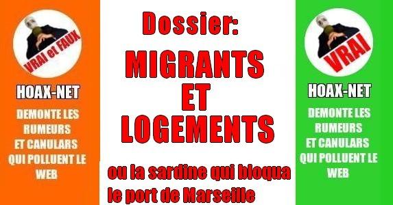 Dossier : migrants et logements, ou la sardine qui bloqua le port de Marseille