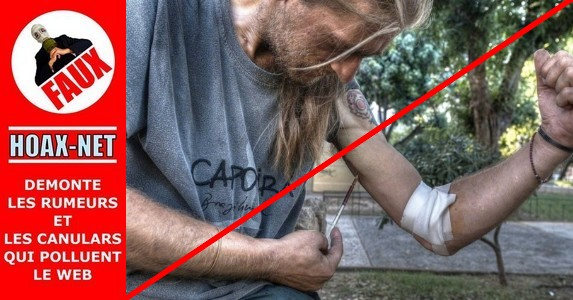 NON, les Grecs ne s'injectent pas le VIH pour 700€ d'aides sociales par mois !