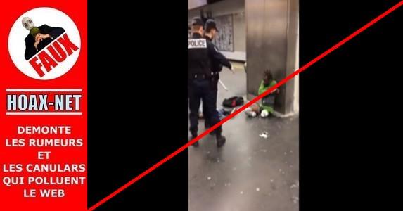 NON, cet homme ne s'est pas fait retirer ses prothèses lors d'un contrôle de police