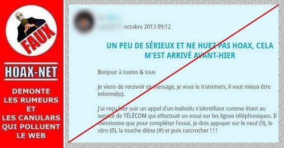 NON, France Telecom ne vous appellera pas pour pirater votre téléphone !