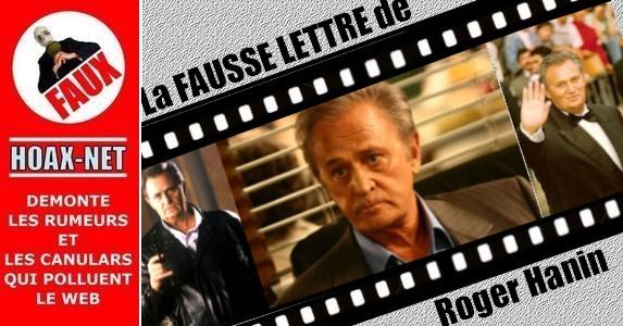 FAUSSE lettre de Roger HANIN à  JAMEL DEBBOUZE et à ses amis acteurs et cinéastes !