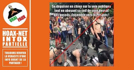 Non, cette photo de Gay Pride n'a pas été réalisée en France.