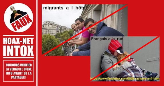 Les migrants seraient logés dans des hôtels de luxe, c'est FAUX !