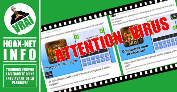 ATTENTION, NE CLIQUEZ PAS SUR CETTE PUBLICATION, C'EST UN VIRUS !